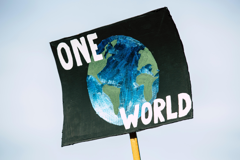 One World - COP26 Banner
